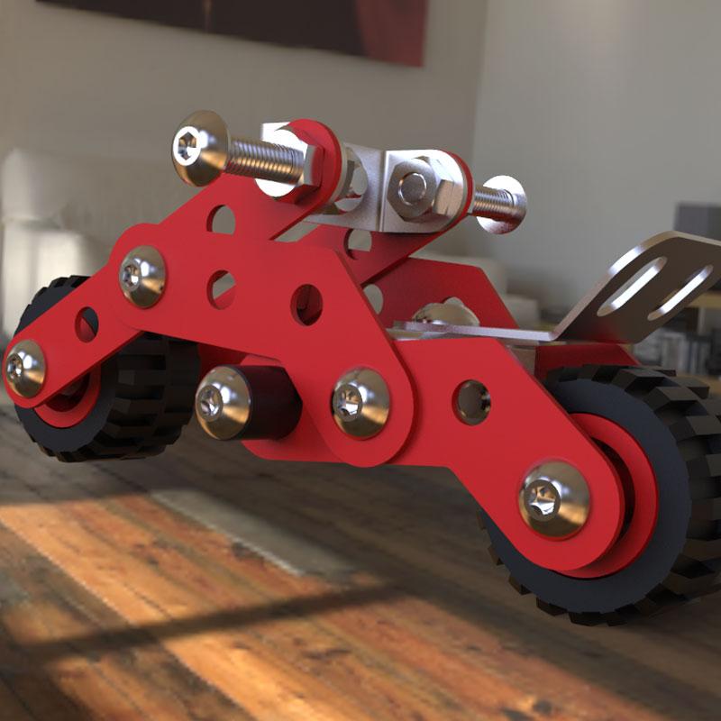 اسباب بازی زیرک - موتور مدل 1