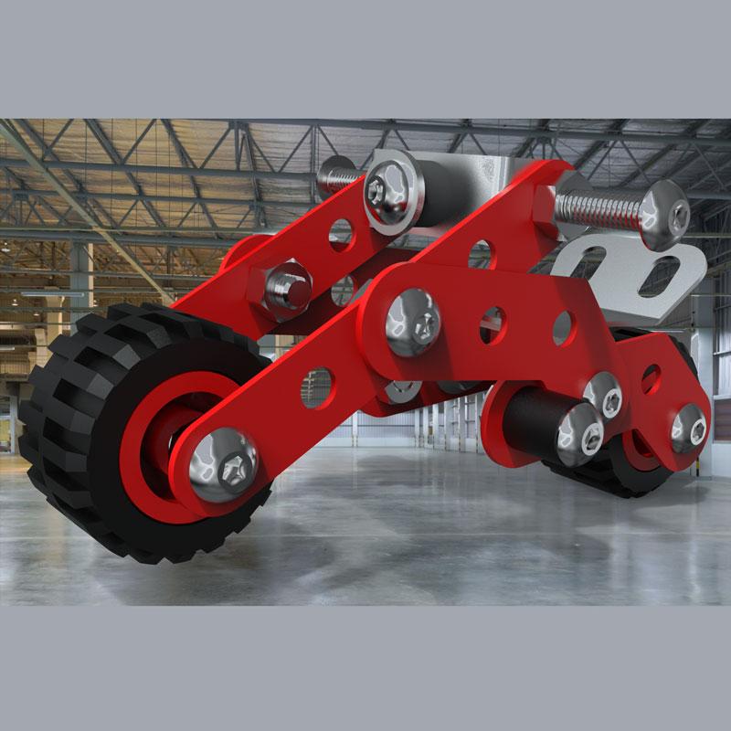اسباب بازی زیرک - موتور مدل 3